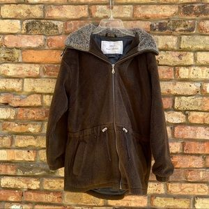 Nils Resort Collection Brown Hooded Jacket Size S